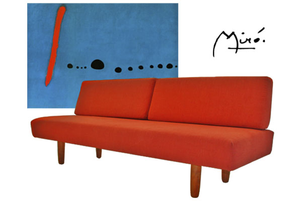 Miró Custom Daybed And Ytic Couch